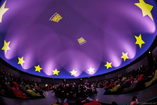 Traumzeit-Dome im Europa-Park mit Projektionsshow Beautiful Europe