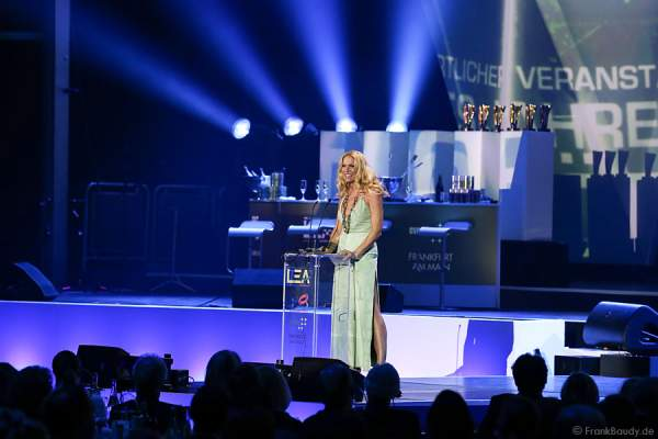 Sonya Kraus beim PRG LEA - Live Entertainment Award 2015 (LEA Award)