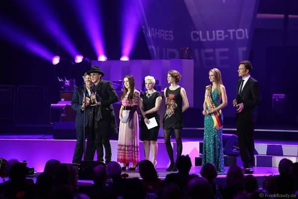 Marius Müller-Westernhagen erhält den PRG Live Entertainment Award 2015 (LEA Award) für die CLUB-TOURNEE DES JAHRES