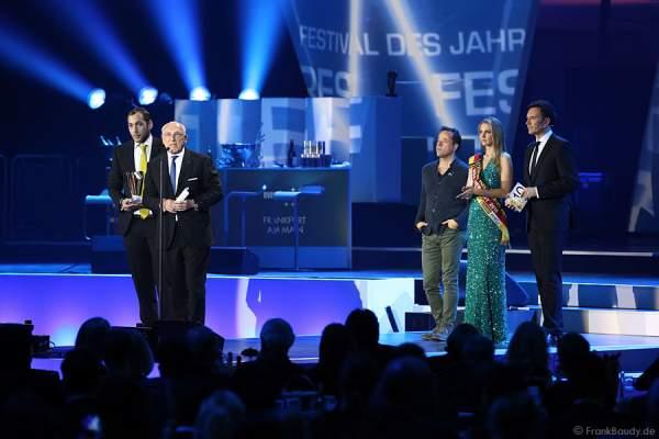Andre Lieberberg und Vater Marek Lieberberg beim PRG LEA - Live Entertainment Award 2015 (LEA Award)