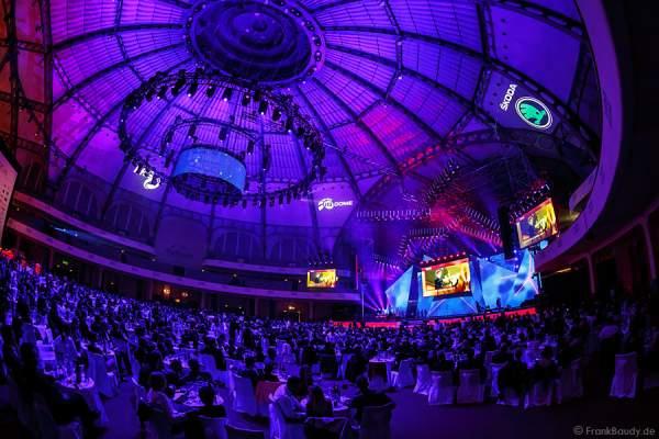 Festliche Gala beim PRG LEA - Live Entertainment Award 2015 (LEA Award) in der Frankfurter Festhalle