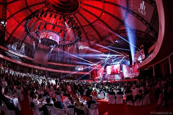 Festliche Gala beim LEA Award 2015 in der Frankfurter Festhalle