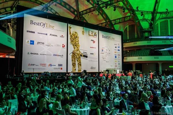 FOH beim PRG LEA - Live Entertainment Award 2015 (LEA Award) in der Frankfurter Festhalle