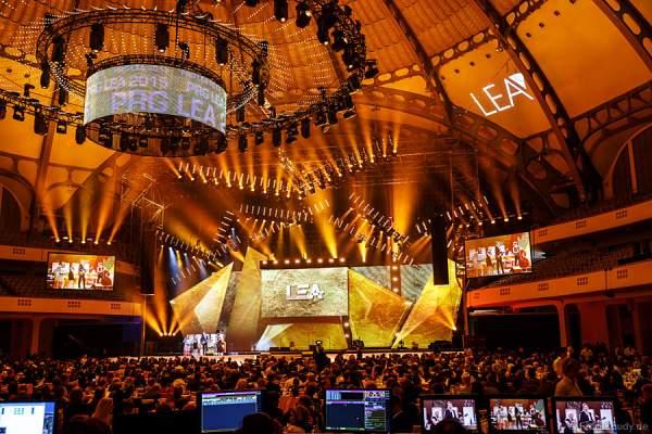 Blick vom FOH beim PRG LEA - Live Entertainment Award 2015 (LEA Award) in der Frankfurter Festhalle