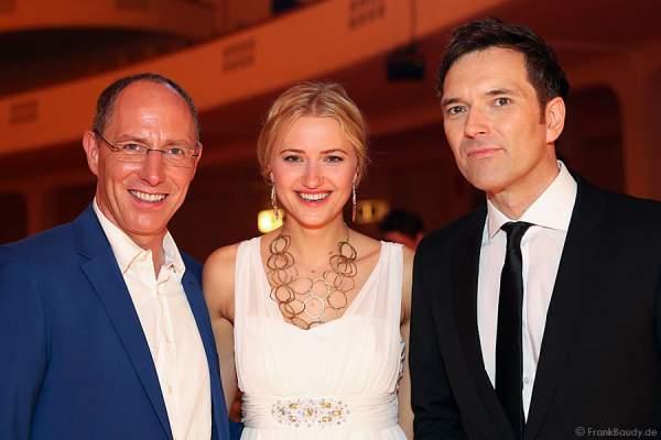 Thomas Ranft, Katerina Gottesleben und Ingo Nommsen beim PRG LEA - Live Entertainment Award 2015 (LEA Award)