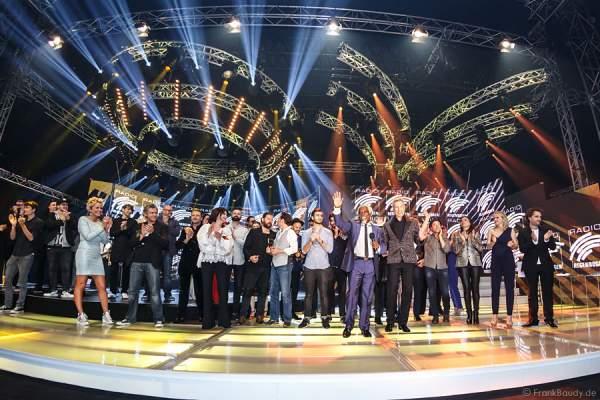 Schlussapplaus beim Radio Regenbogen Award 2015