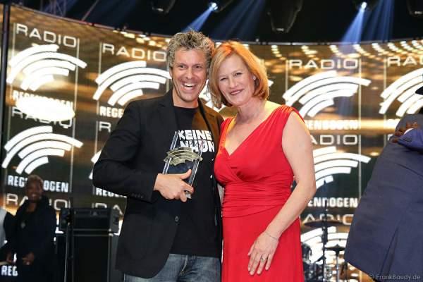 Sascha Grammel und Suzanne von Borsody beim Radio Regenbogen Award 2015 beim Radio Regenbogen Award 2015