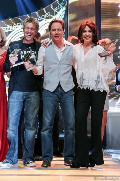 """Sascha Grammel, Michael """"Bully"""" Herbig und Iris Berben erhalten den Radio Regenbogen Award 2015"""