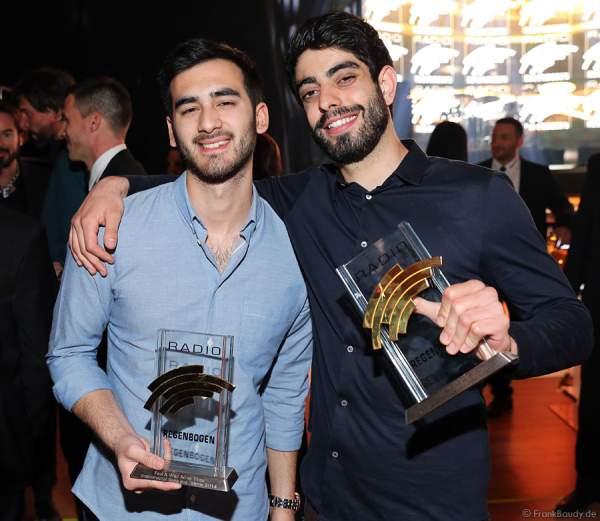 Faul und Wad Ad vs. Pneu beim Radio Regenbogen Award 2015