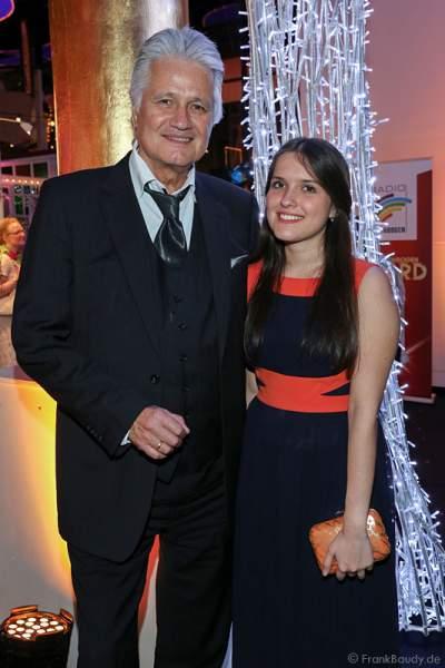 Guido Knopp und Tochter Katharina Knoop beim Radio Regenbogen Award 2015 beim Radio Regenbogen Award 2015