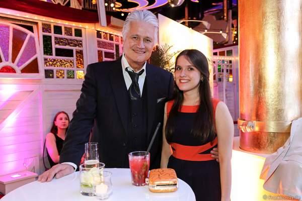 Guido Knopp und Tochter Katharina Knoop beim Radio Regenbogen Award 2015 bei der After-Show-Party des Radio Regenbogen Award 2015