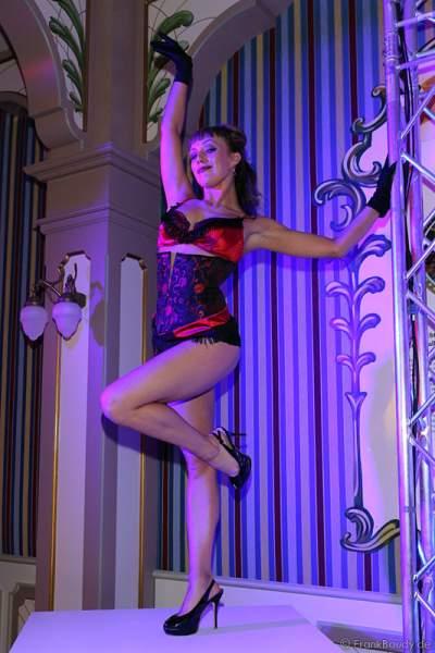 Tabledance bei der After-Show-Party des Radio Regenbogen Award 2015 im Europa-Park