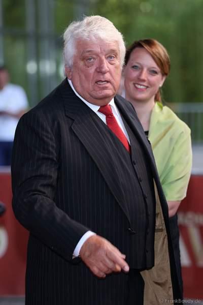 Hans Meiser und seine Tochter Anouk Meiser beim Radio Regenbogen Award 2015 im Europa-Park