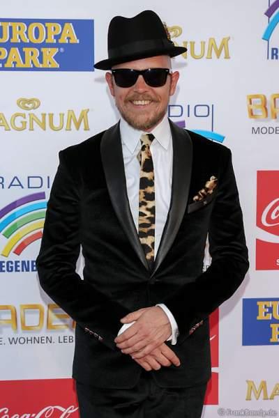 Jan Delay auf dem roten Teppich beim Radio Regenbogen Award 2015