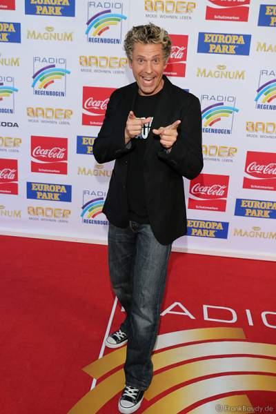 Sascha Grammel auf dem roten Teppich beim Radio Regenbogen Award 2015
