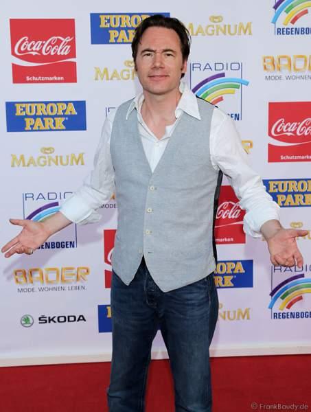 """Michael """"Bully"""" Herbig auf dem roten Teppich beim Radio Regenbogen Award 2015"""