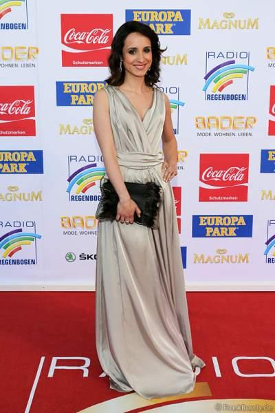 Stephanie Stumph beim Radio Regenbogen Award 2015