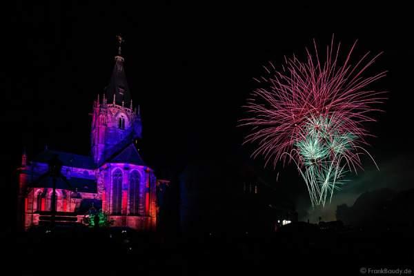 Feu d'artifice Wissembourg 2015