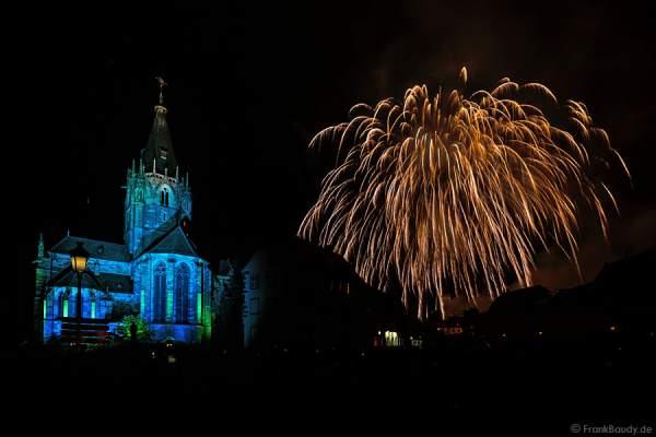 Feuerwerk in Weißenburg (Wissembourg) 2015