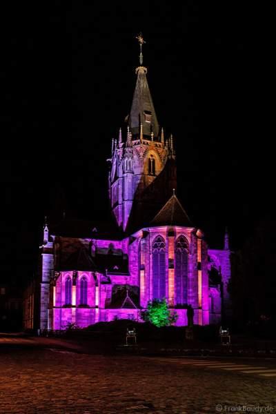 Saints-Pierre-et-Paul illuminé Wissembourg 2015