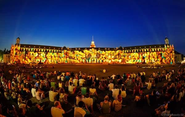 300 Fragments von Maxin10sity Schlosslichtspiele 300 Jahre Stadtgeburtstag Karlsruhe