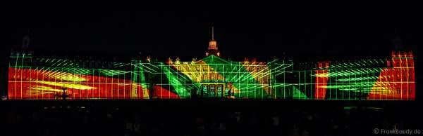 Schlosslichtspiele 300 Jahre Stadtgeburtstag Karlsruhe