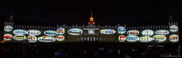 Sponsoren der Schlosslichtspiele 300 Jahre Stadtgeburtstag Karlsruhe 2015