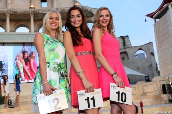 Nicola Koska, Sandra Kohns, Olga Hoffmann - 1. Europäischer Missen TEAM-Cup im Europa-Park