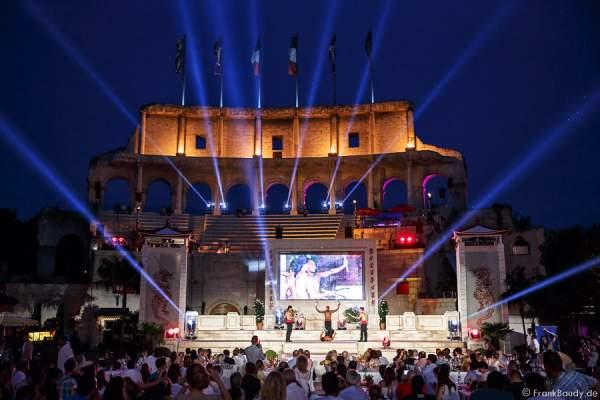Künstler des Europa-Park - 1. Europäischer Missen TEAM-Cup