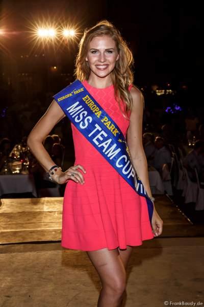 Olga Hoffmann (Miss Germany 2015) - 1. Europäischer Missen TEAM-Cup im Europa-Park
