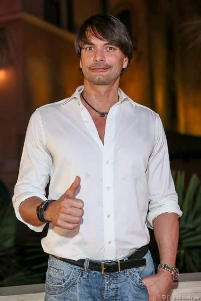 Topmodel Marcus Schenkenberg (bürgerlich Marcus Lodewijk Schenkenberg van Mierop) - 1. Europäischer Missen TEAM-Cup im Europa-Park