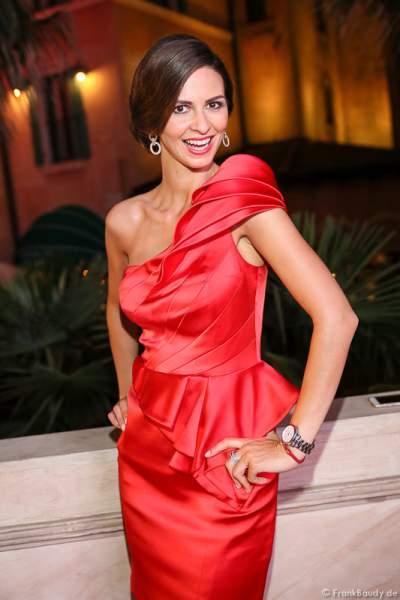 Doris Schmidts (Miss Germany 2009)- Moderation - 1. Europäischer Missen TEAM-Cup im Europa-Park