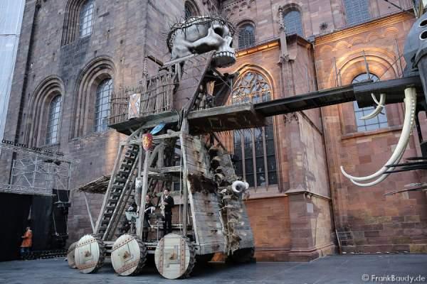 Panzerballett bei Gemetzel - Nibelungen-Festspiele 2015 in Worms