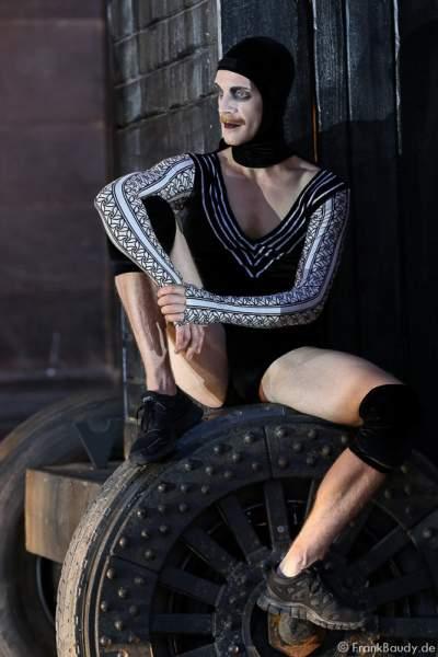 Ian Garside bei Gemetzel - Nibelungen-Festspiele 2015 in Worms