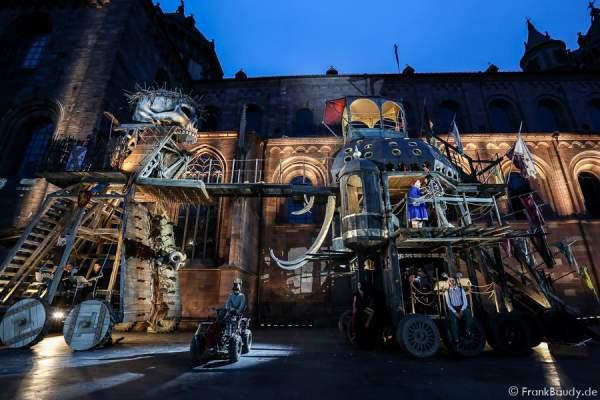Nibelungen-Festspiele 2015 in Worms mit dem Stück Gemetzel