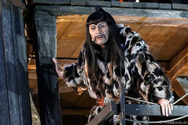Markus Boysen als König Etzel bei Gemetzel - Nibelungen-Festspiele 2015 in Worms