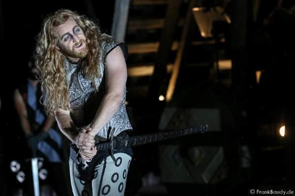 Tom Radisch (Volker) bei Gemetzel - Nibelungen-Festspiele 2015 in Worms