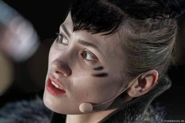 Alina Levshin als Ortlieb bei Gemetzel - Nibelungen-Festspiele 2015 in Worms