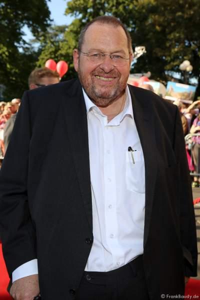 Schauspieler Ottfried Fischer bei der Premiere von Gemetzel - Nibelungen-Festspiele 2015 in Worms