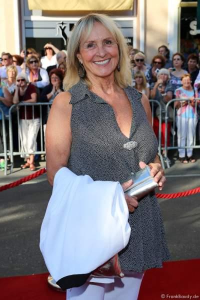 Diana Körner bei der Premiere von Gemetzel - Nibelungen-Festspiele 2015 in Worms