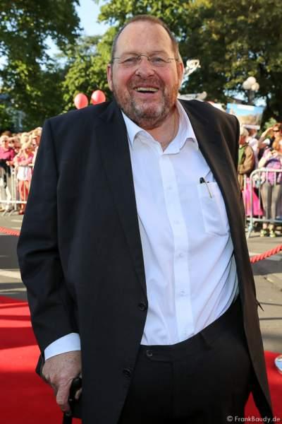 Ottfried Fischer bei der Premiere von Gemetzel - Nibelungen-Festspiele 2015 in Worms