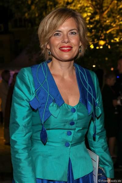Julia Klöckner (Landesvorsitzende der CDU Rheinland-Pfalz, Fraktionsvorsitzende der CDU im Landtag Rheinland-Pfalz) bei der Premiere von Gemetzel - Nibelungen-Festspiele 2015 in Worms