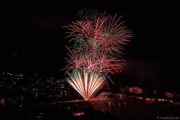 Feuerwerk bei der 3. Heidelberger Schlossbeleuchtung 2015
