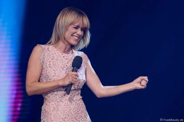Francine Jordi bei der Stadlshow 2015 in Offenburg
