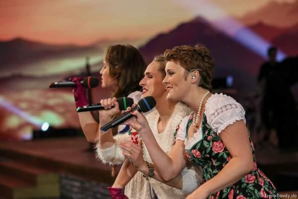 La Goassn bei der Stadlshow 2015 in Offenburg