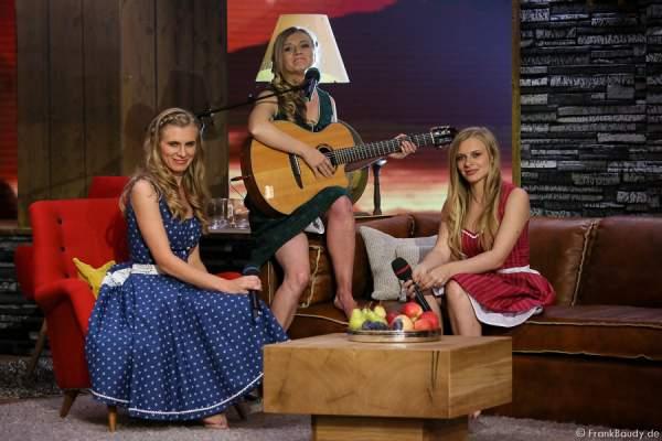 Die Poxrucker Sisters bei der Stadlshow 2015 in Offenburg