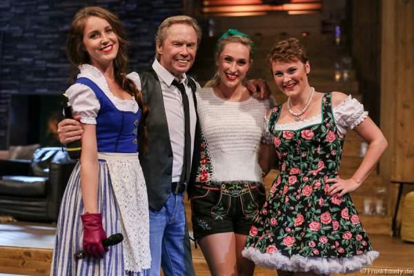 La Goassn mit Peter Kraus bei der Stadlshow 2015 in Offenburg