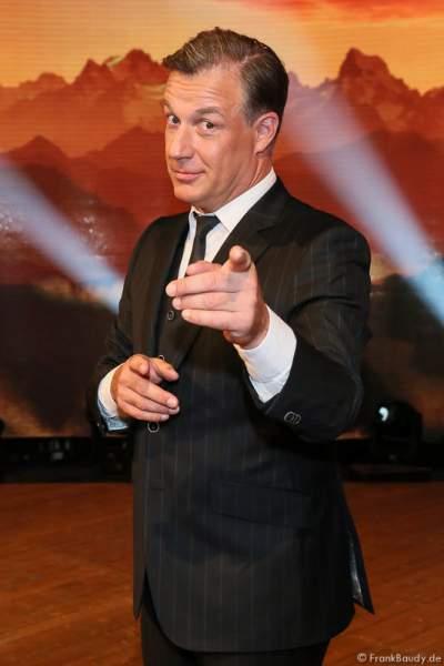 Marc Marshall bei der Stadlshow 2015 in Offenburg