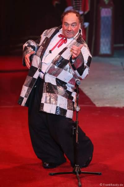 Hector (Maurin) Rossi von Les Rossyann bei der Show Salto Vitale des Circus Roncalli