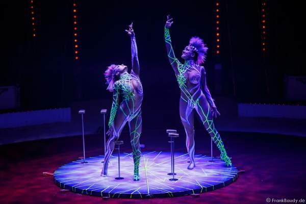 Alexandra & Kelly Saabel bei Salto Vitale des Circus Roncalli
